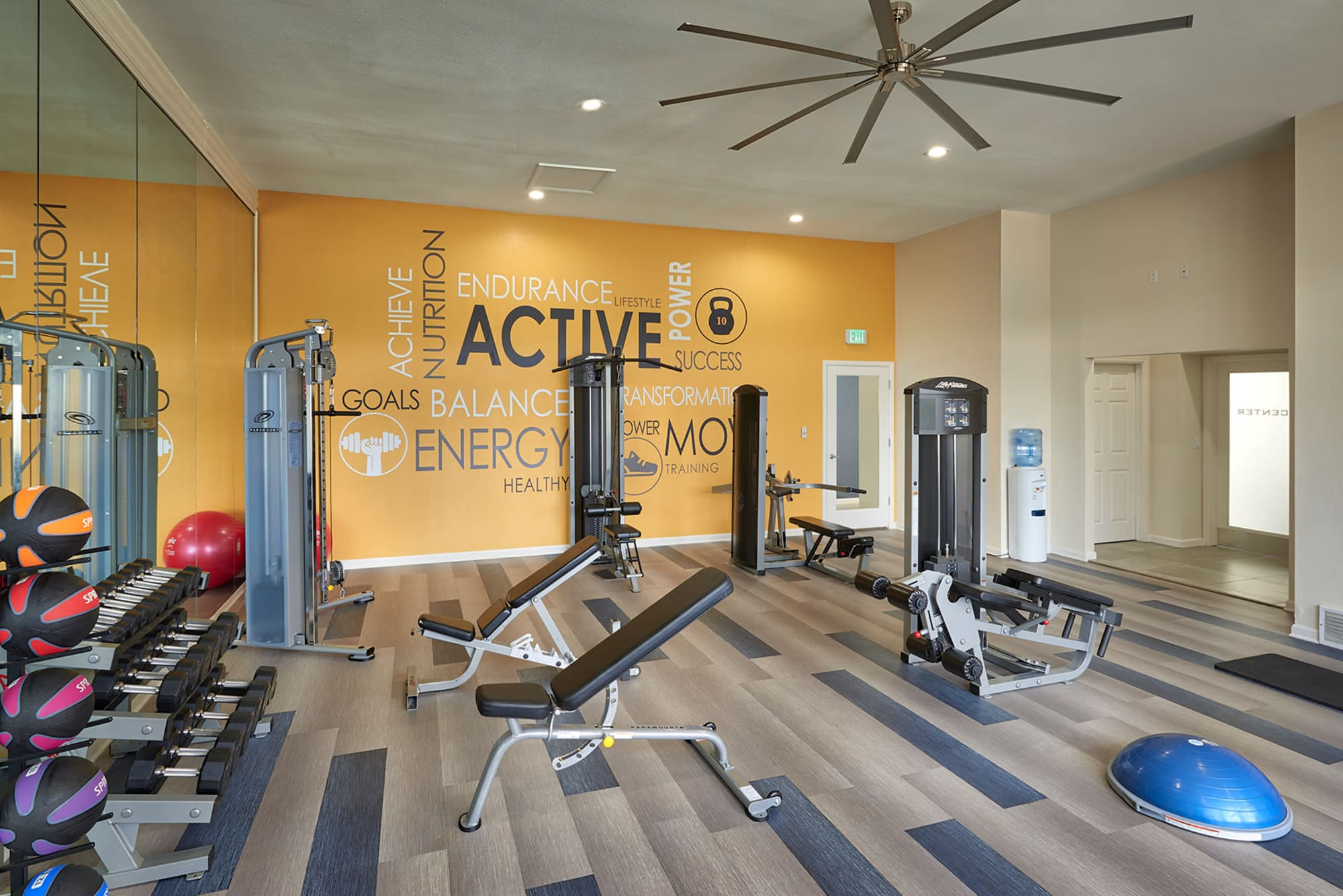 Fully Equipped Gym at Villas at Homestead Apartments