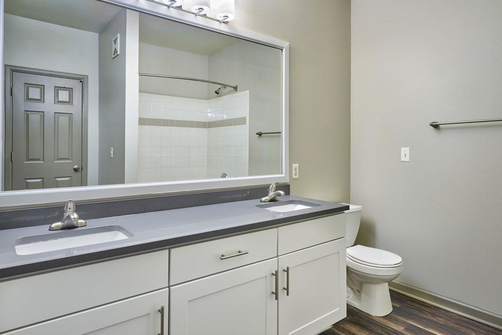 bathroom at Gateway Park Apartments in Denver, CO