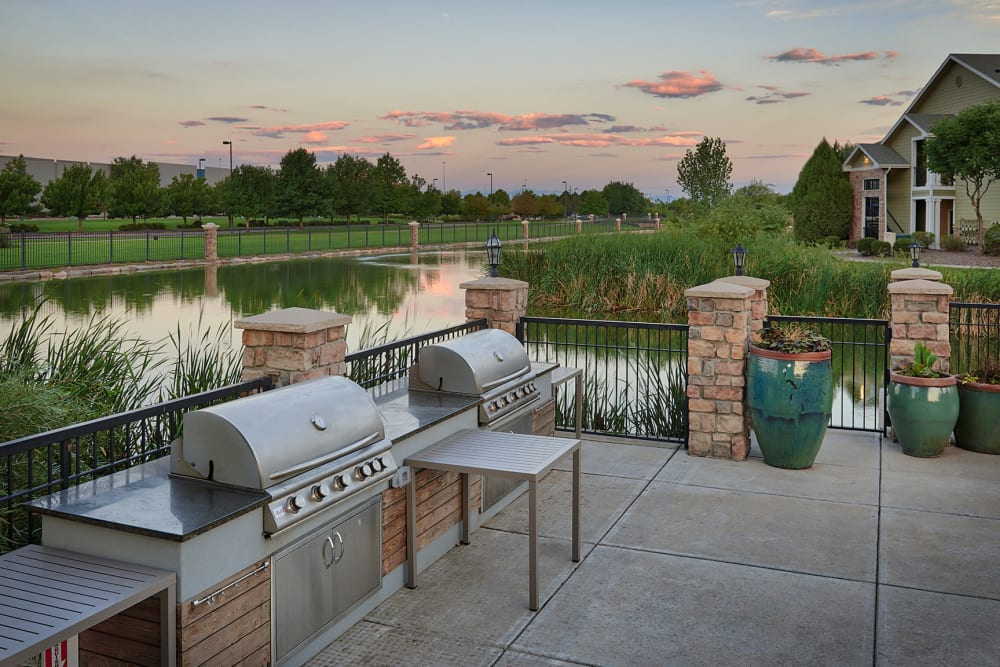 BBQ at Gateway Park Apartments in Denver, CO