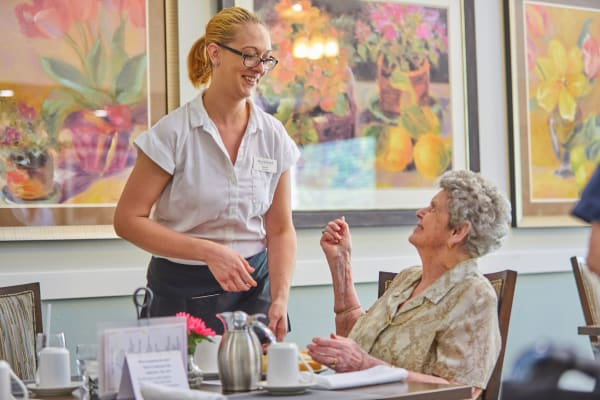 Contact us to learn more about our assisted living.