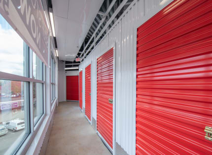 Self storage building exterior at StorQuest Self Storage in Tigard, Oregon