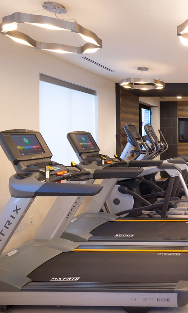 Onsite fitness center at The Bixby in Washington, District of Columbia