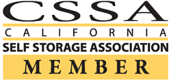 California Self Storage Association Member graphic