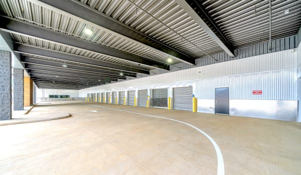 Outdoor drive-up units at Security Self-Storage