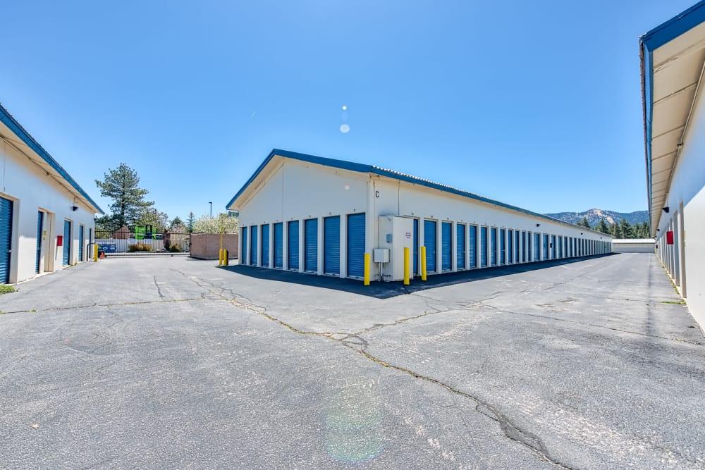 Convenient drive-up storage at Golden State Storage - Big Bear in Big Bear, California
