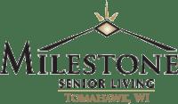 Milestone Senior Living Tomahawk logo