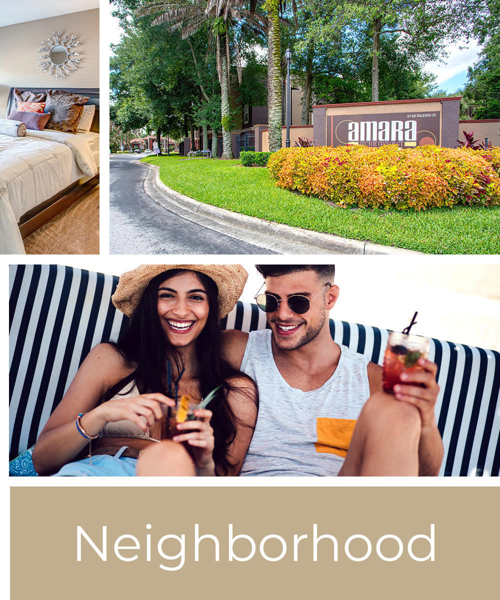 View our neighborhood near Amara at MetroWest in Orlando, Florida