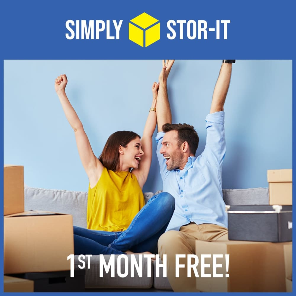 1st month free at Simply Stor-It Mitchell in Mitchell, South Dakota