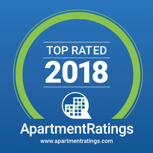 The Retreat Apartments is the 2018 Top Rated property by Apartment Ratings