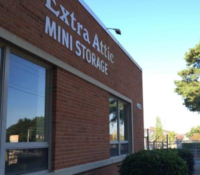 Exterior of Extra Attic Mini Storage - Bethlehem in Richmond, Virginia