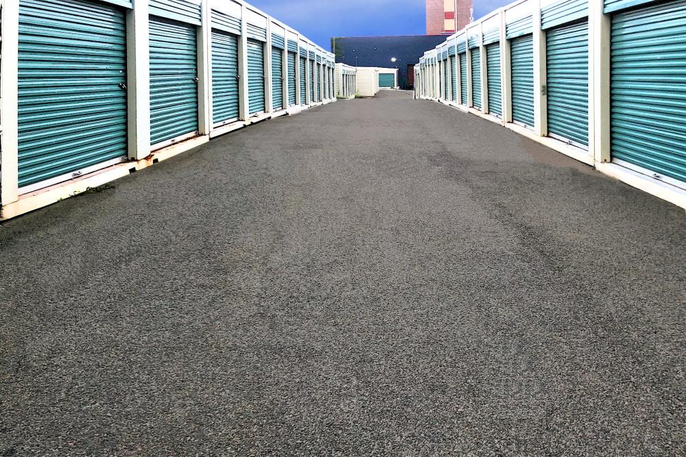 Outdoor storage units at Prime Storage in Jamaica, New York