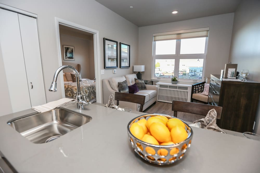 1 bedroom apartment at Quail Park at Morrison Ranch in Gilbert, Arizona