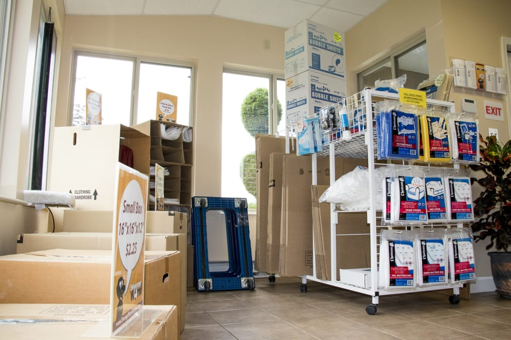 Moving and Packing Supplies at Storage World