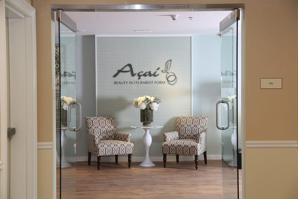 Salon at Maplewood at Darien in Darien, Connecticut