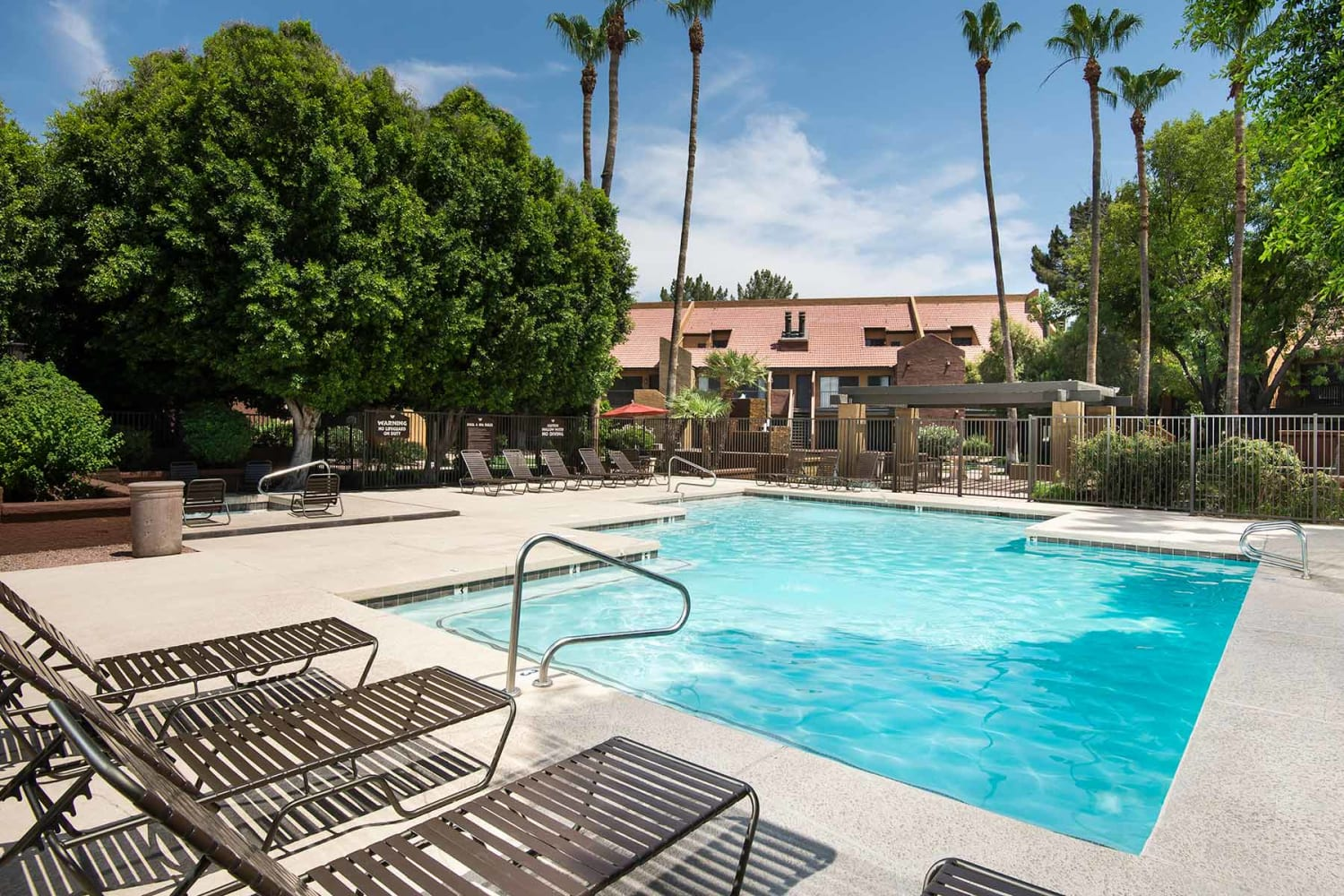 Enjoy apartments with a swimming pool at Waterford Place Apartments in Mesa, Arizona