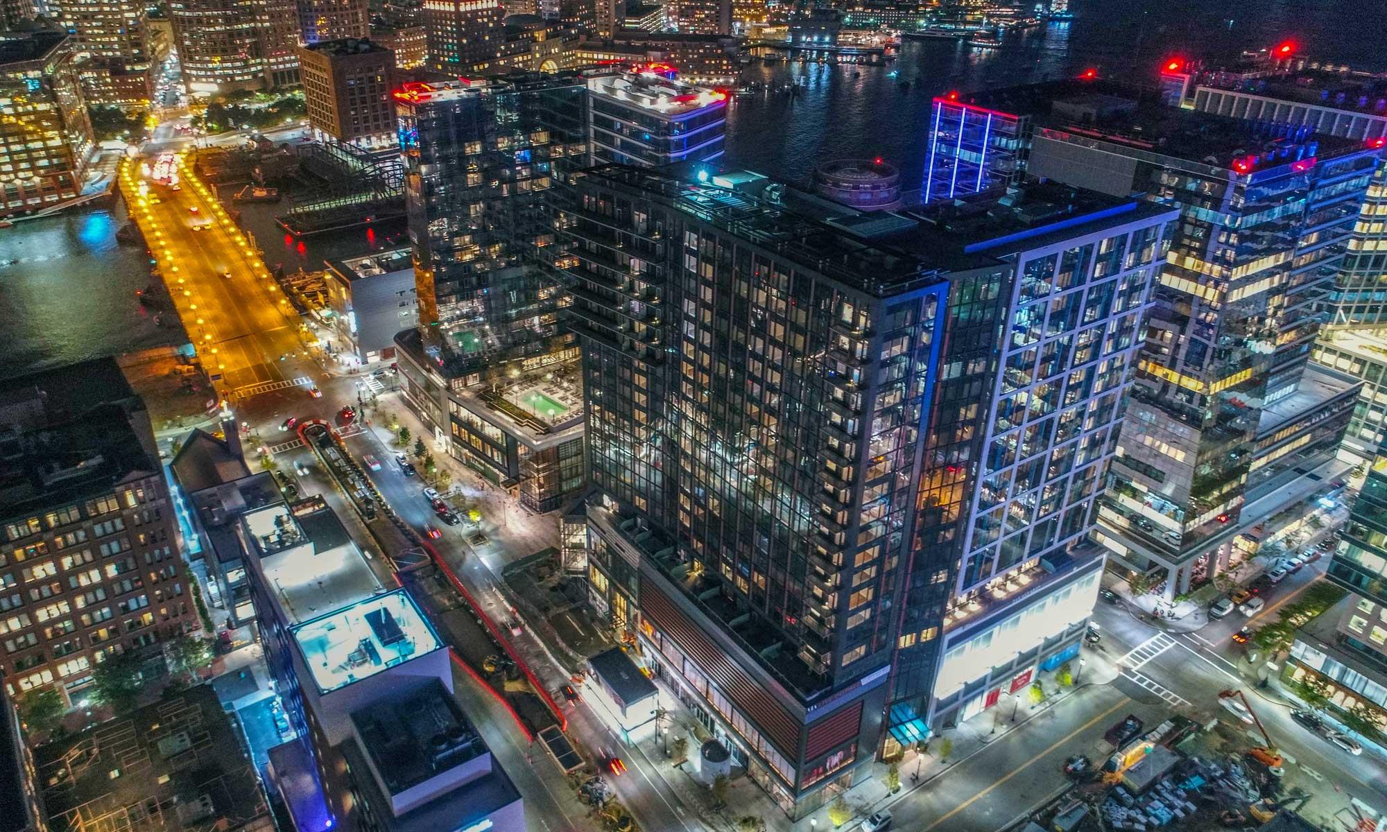 Boston Ma Luxury Apartments In Seaport Via