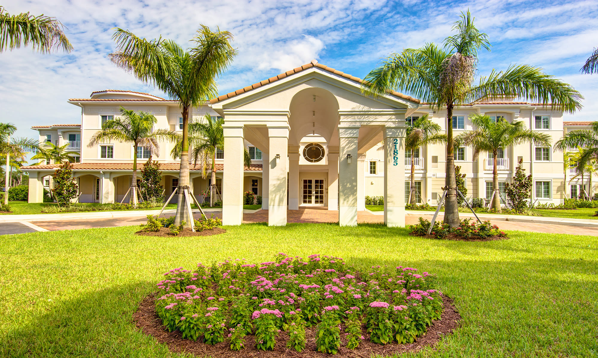 Senior living at The Meridian at Boca Raton in Boca Raton, Florida.