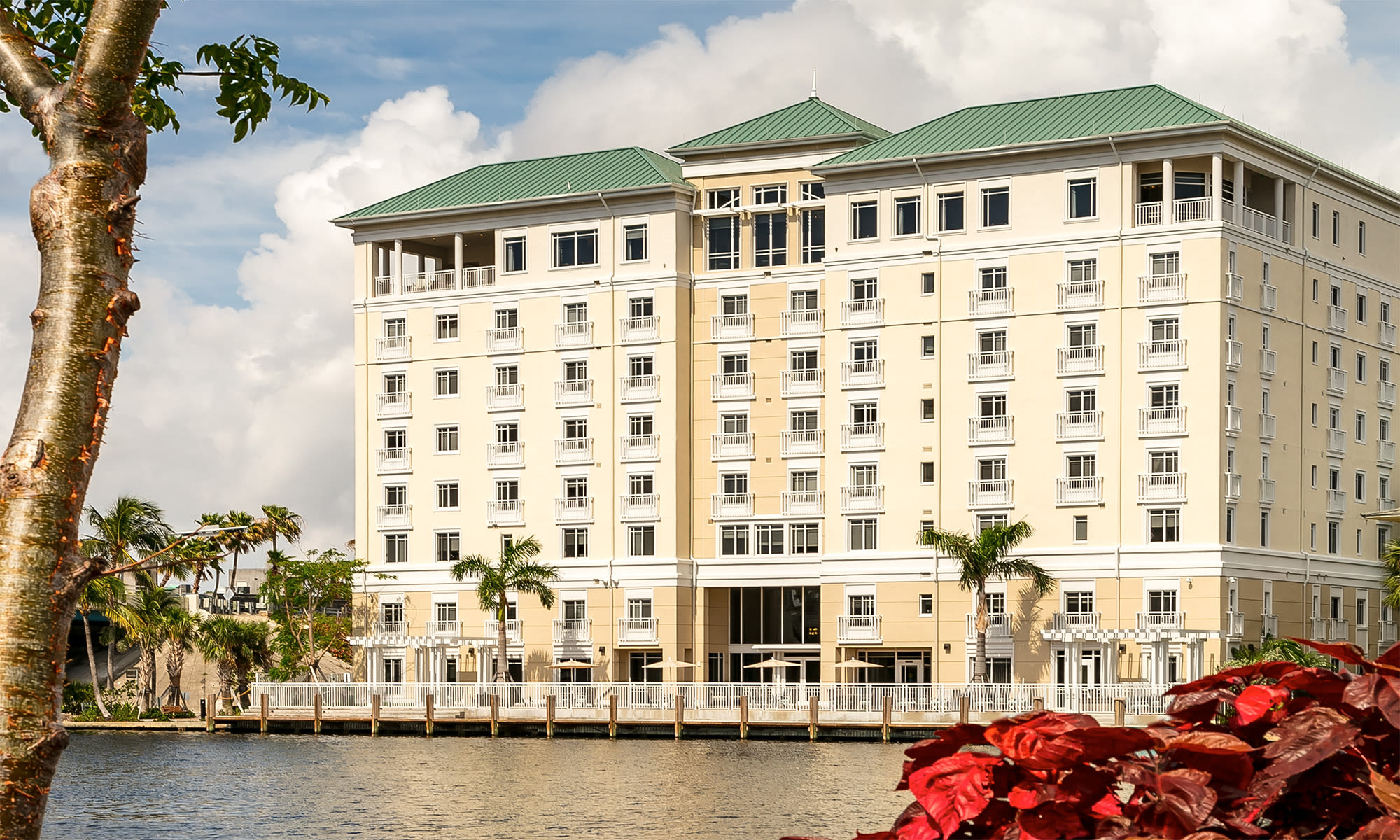 Senior living at The Meridian at Waterways in Fort Lauderdale, Florida.