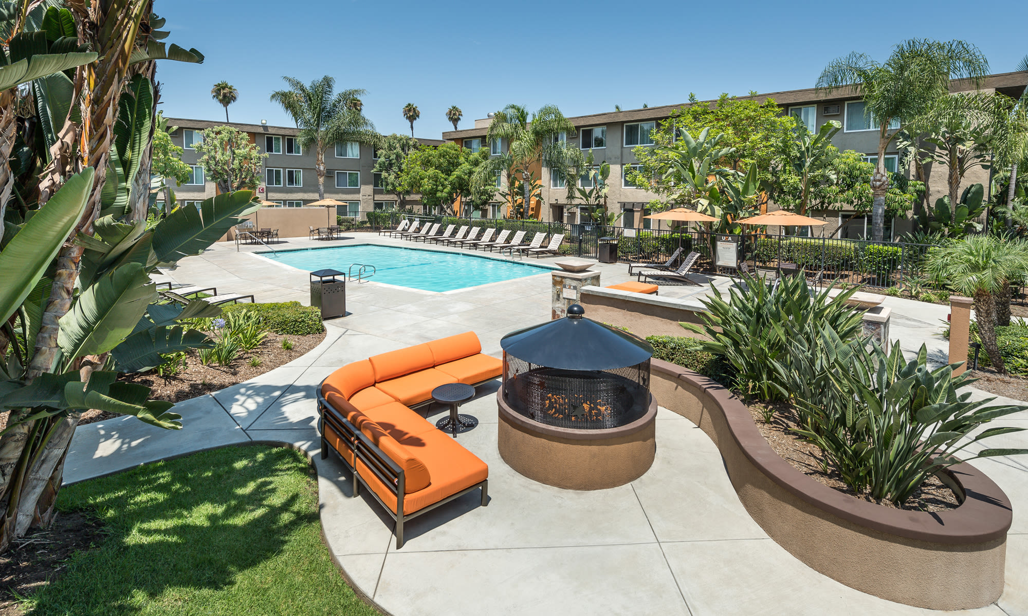 Photos of UCA Apartment Homes in Fullerton, California