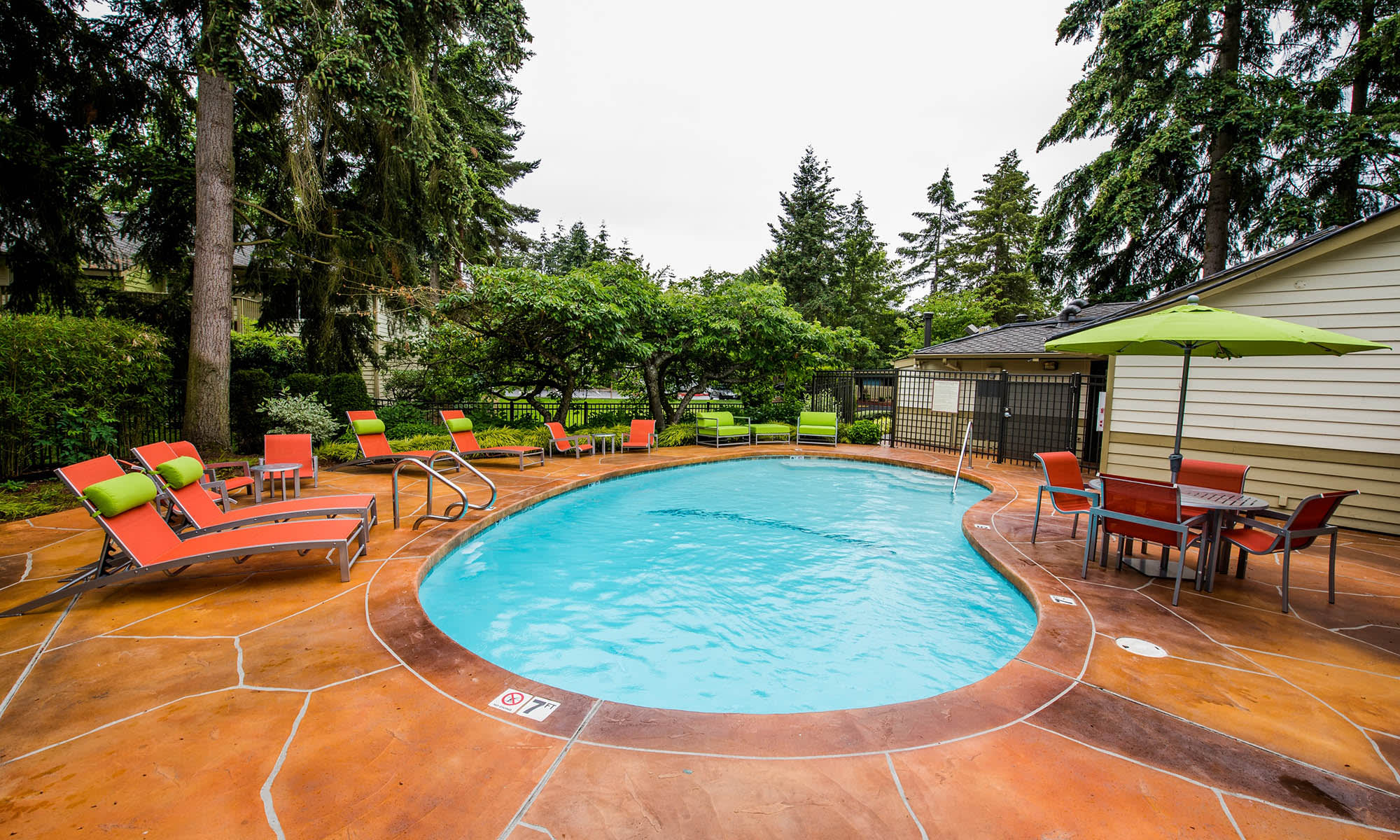 Map and directions to Edgewood Park Apartments in Bellevue, Washington