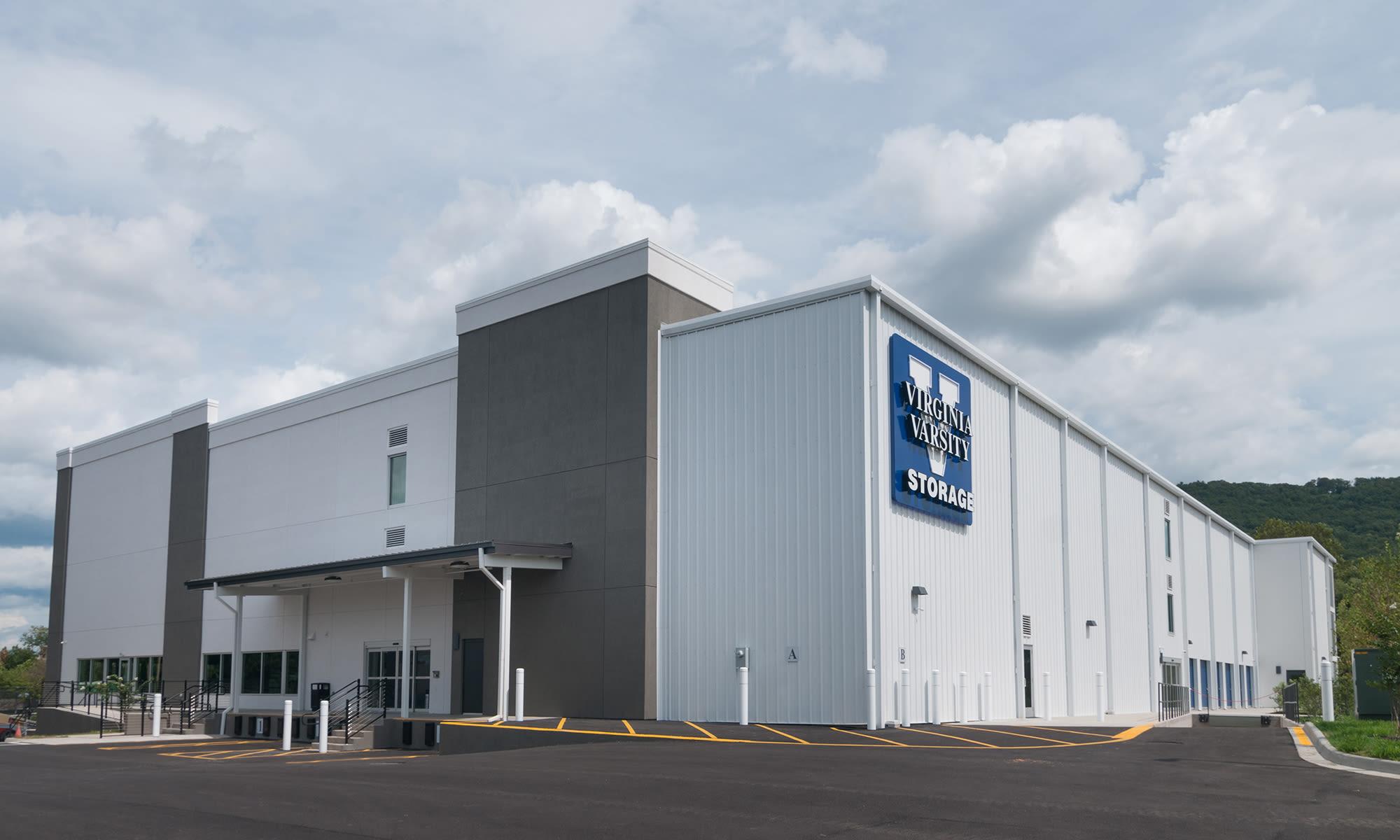 Loading Dock Options at Virginia Varsity Storage in Roanoke, Virginia