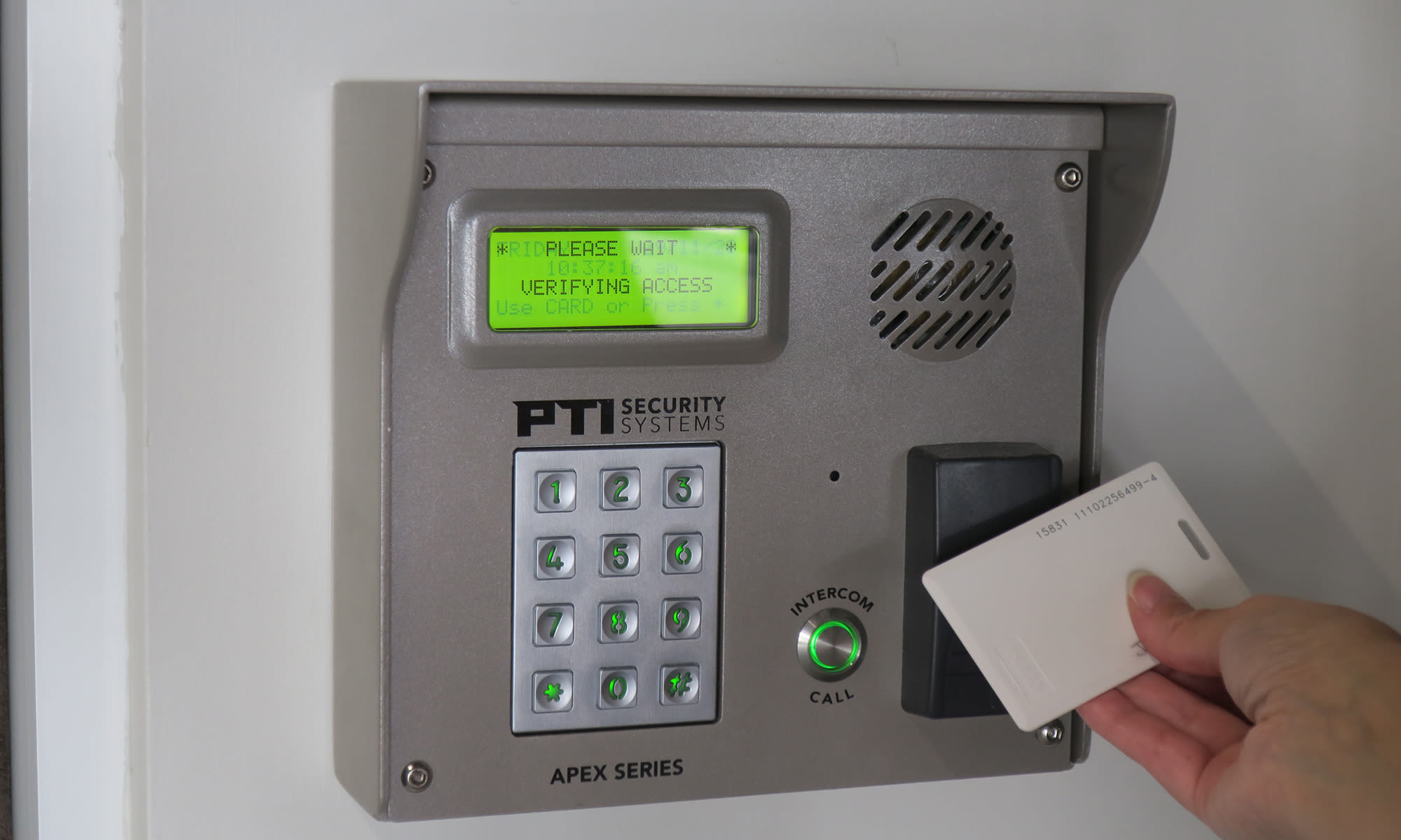 Individualized Access Code and FOB at Virginia Varsity Storage in Roanoke, Virginia