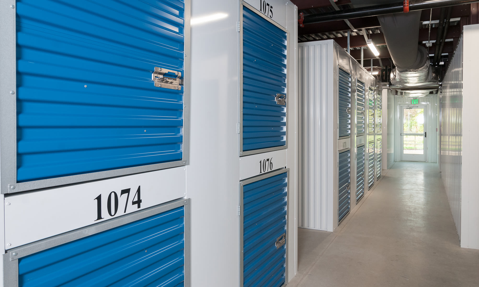 Small Locker Sized Units at Virginia Varsity Storage in Roanoke, Virginia is located