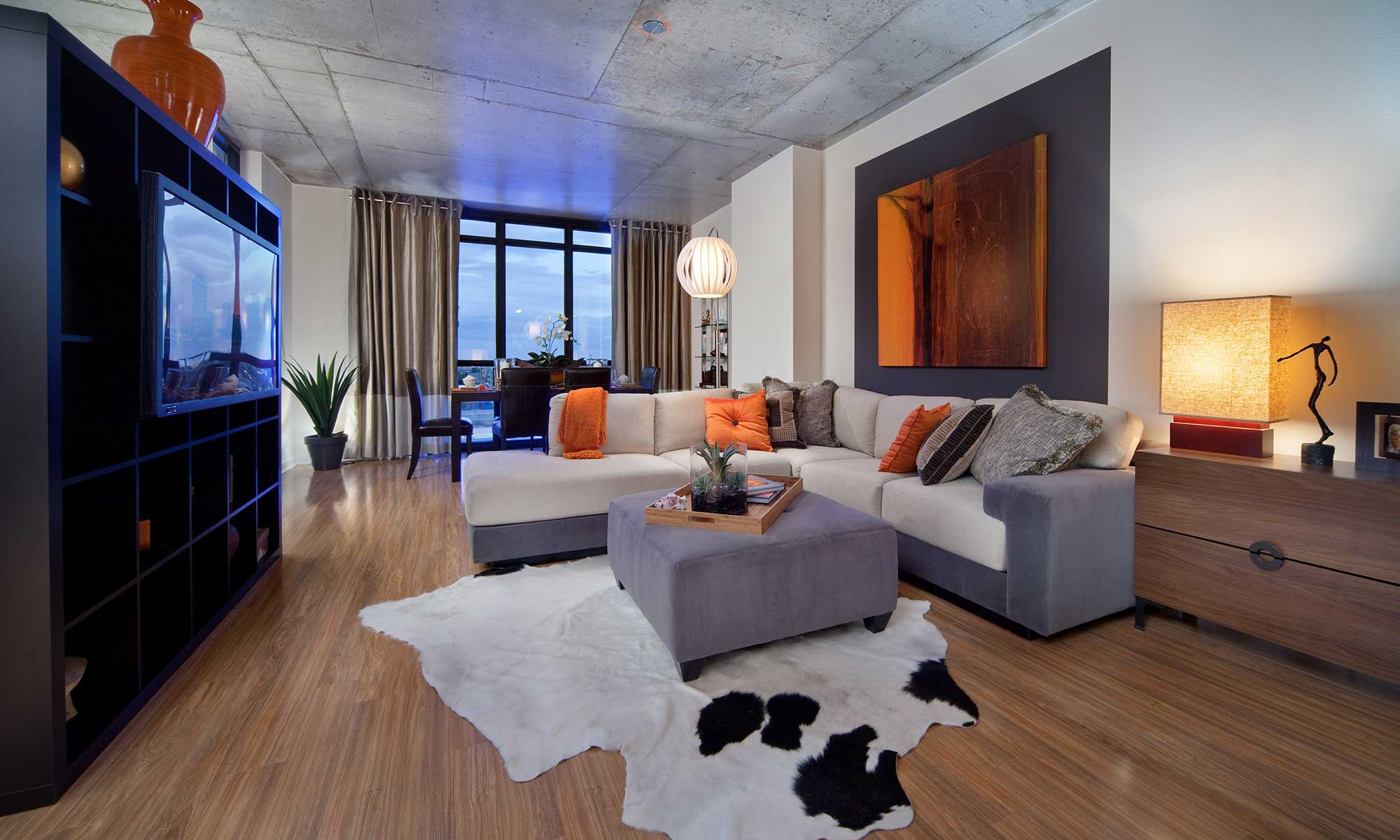 Apartment interior at Orlando, FL