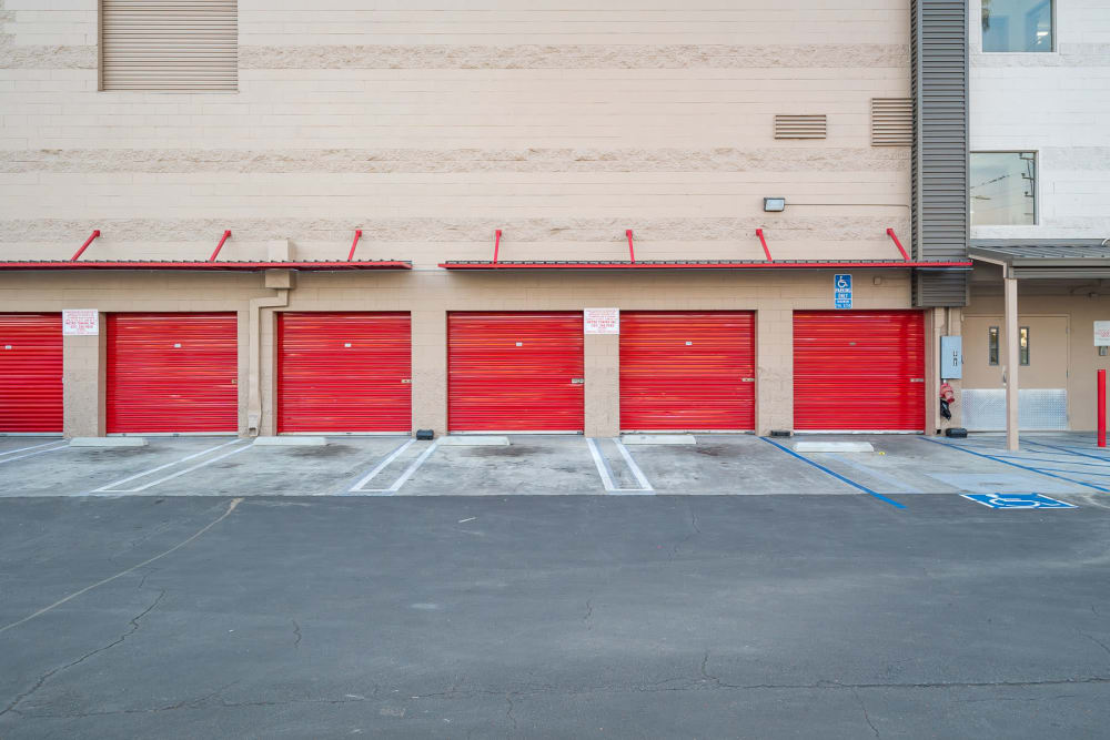 Exterior units at StorQuest Self Storage in Los Angeles, CA