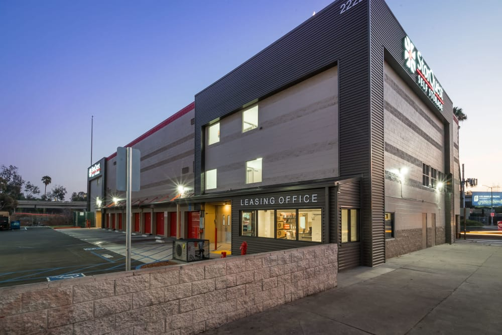 View of facility at StorQuest Self Storage in Los Angeles, CA
