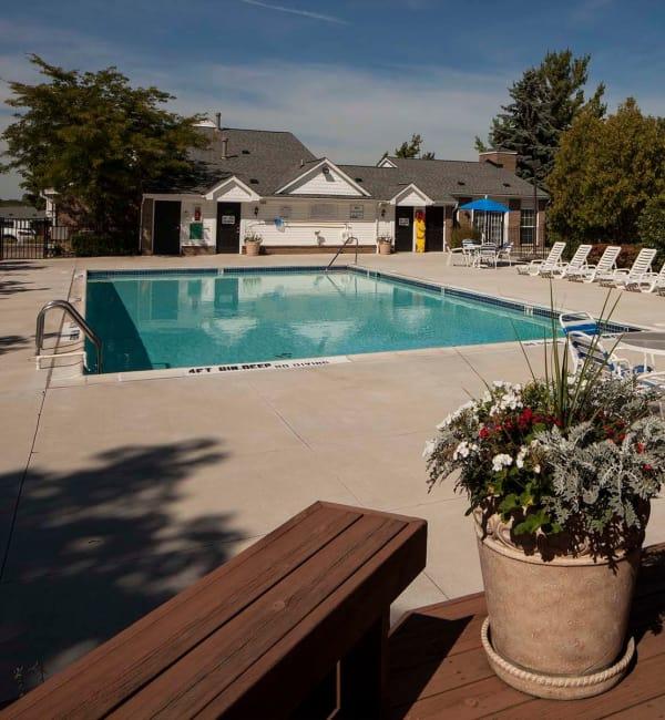 Refreshing swimming pool at Northridge
