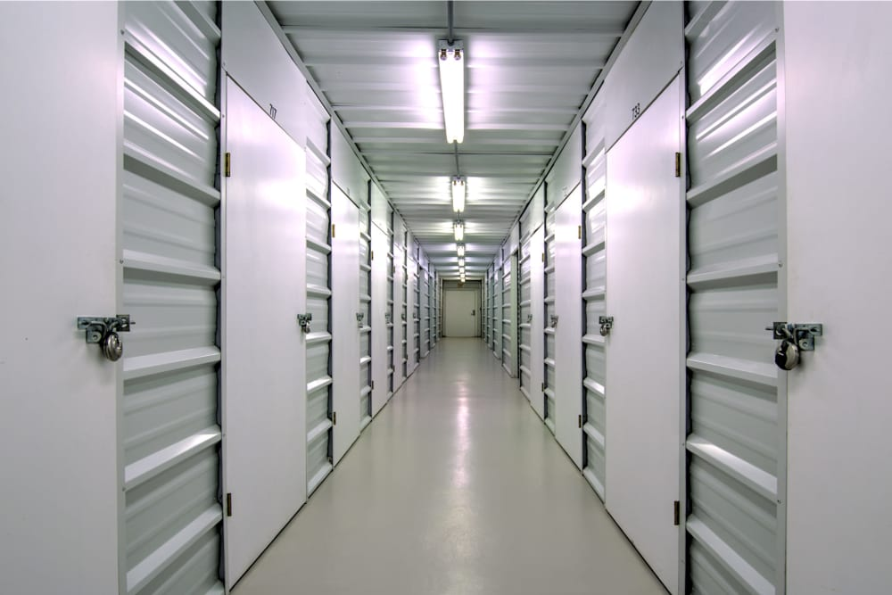 Indoor units at Prime Storage in Shallotte, North Carolina