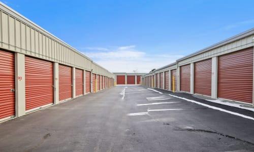 Firehouse Self Storage Exterior Storage Units in Loveland