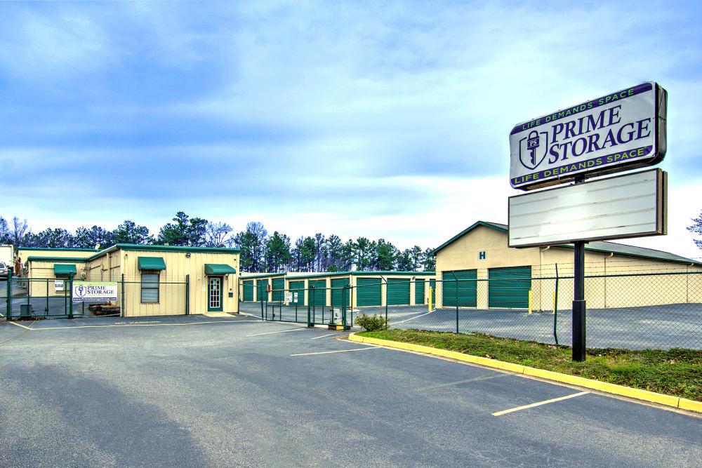 Entrance at Prime Storage in Marietta, Georgia