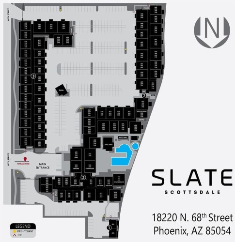 Slate Scottsdale site plan