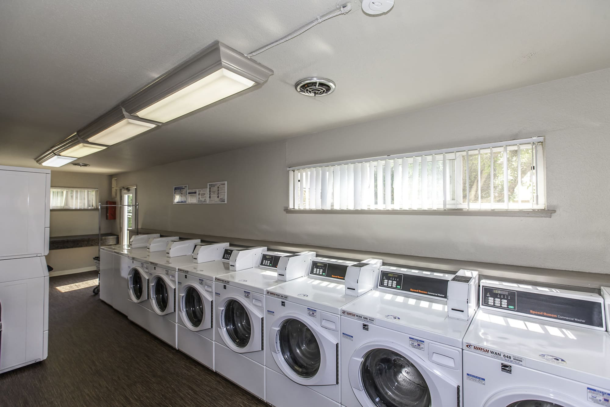 The Timbers Apartments offers a laundry facility in Hayward, CA