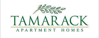 Tamarack Apartments logo pop out