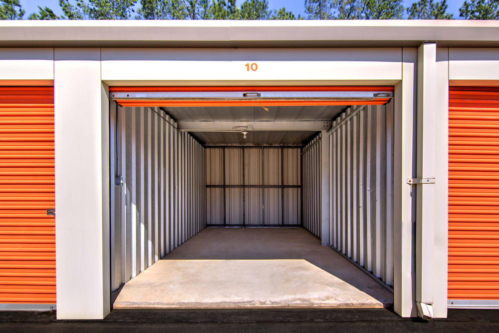 Drive-up units available at Prime Storage in Acworth, Georgia