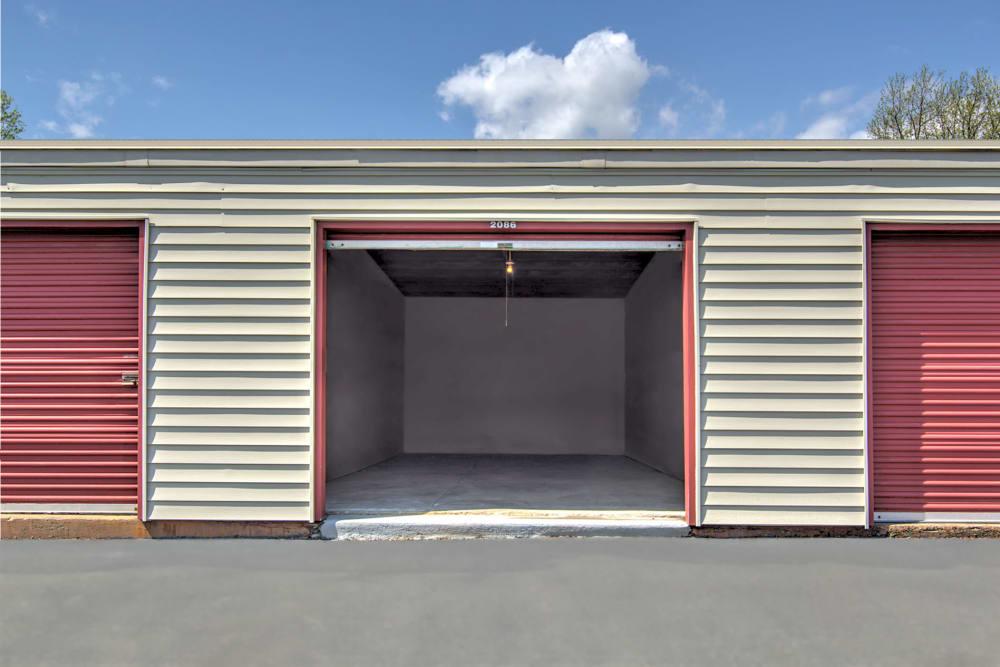 Outdoor storage units at Prime Storage in Ashland, VA