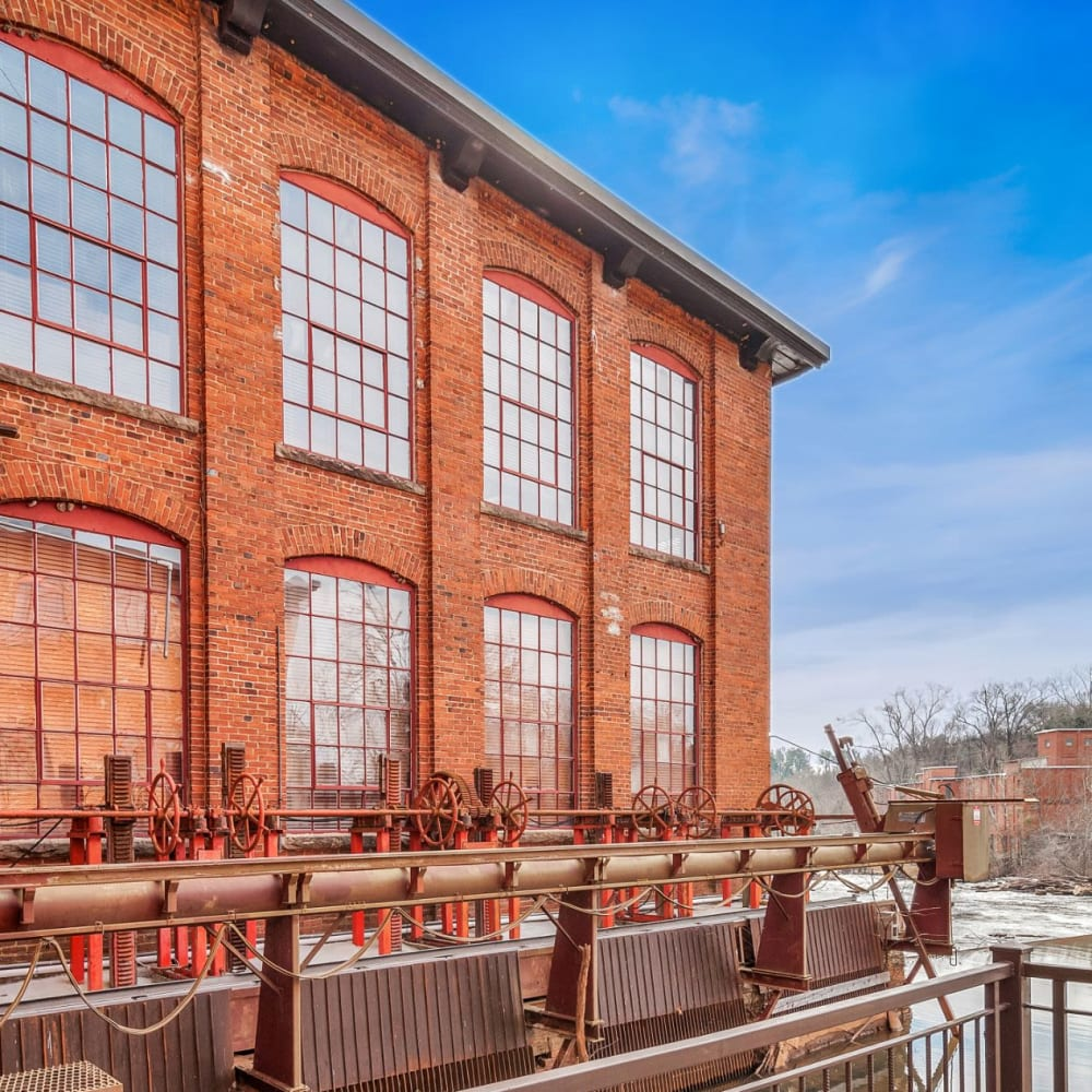 View the site for Porterdale Mill Lofts apartments in Porterdale, Georgia