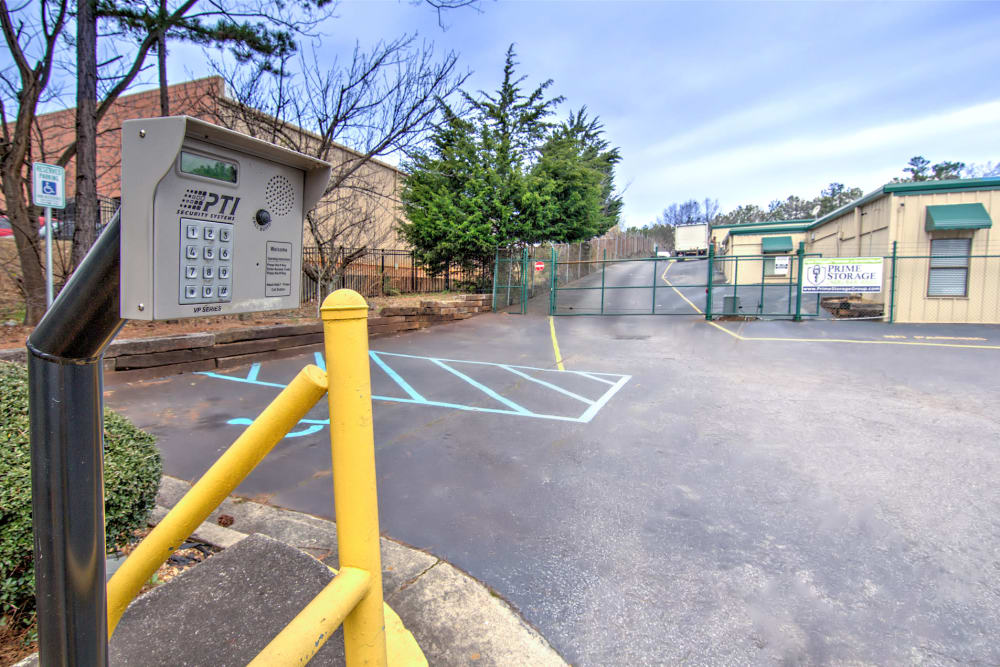 Exterior view at Prime Storage in Marietta, Georgia