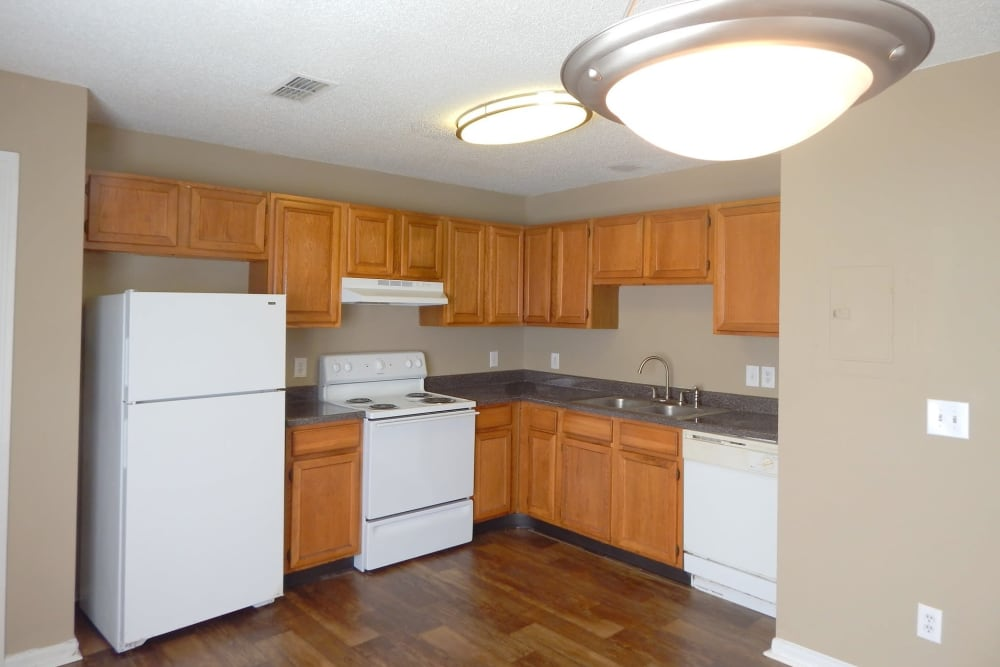 Another kitchen layout at Cypress Creek Townhomes