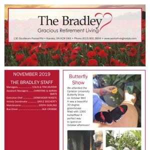 November The Bradley Gracious Retirement Living Newsletter