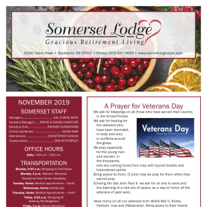 November Somerset Lodge newsletter
