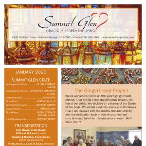 January Summit Glen Newsletter
