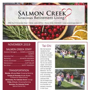 November Salmon Creek newsletter