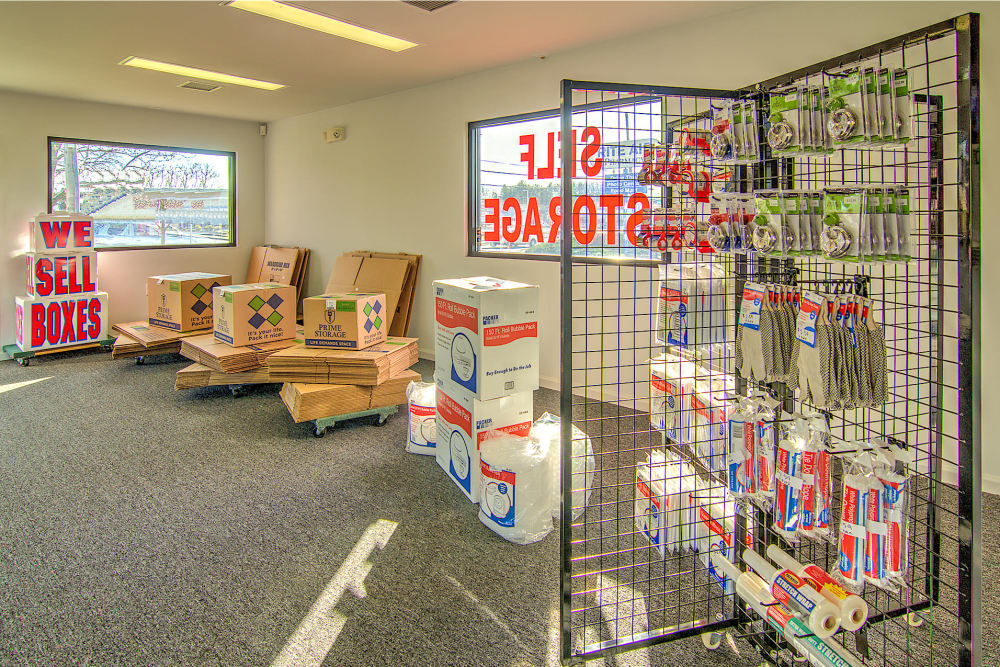Packing supplies at A Space Place Self Storage in Medford, New York