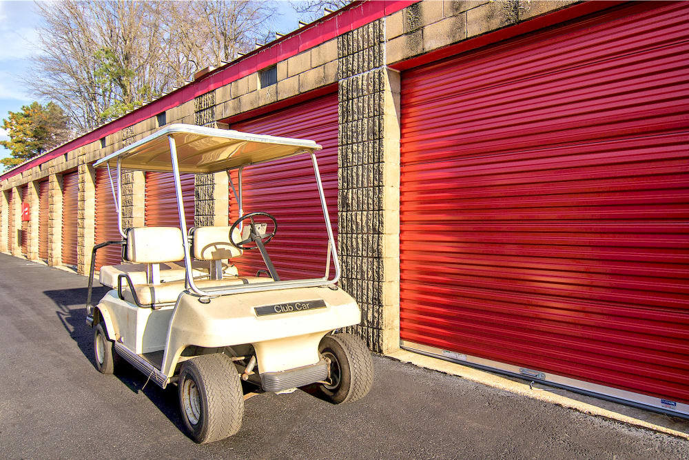 Storage units at Prime Storage in Lindenwold, New Jersey