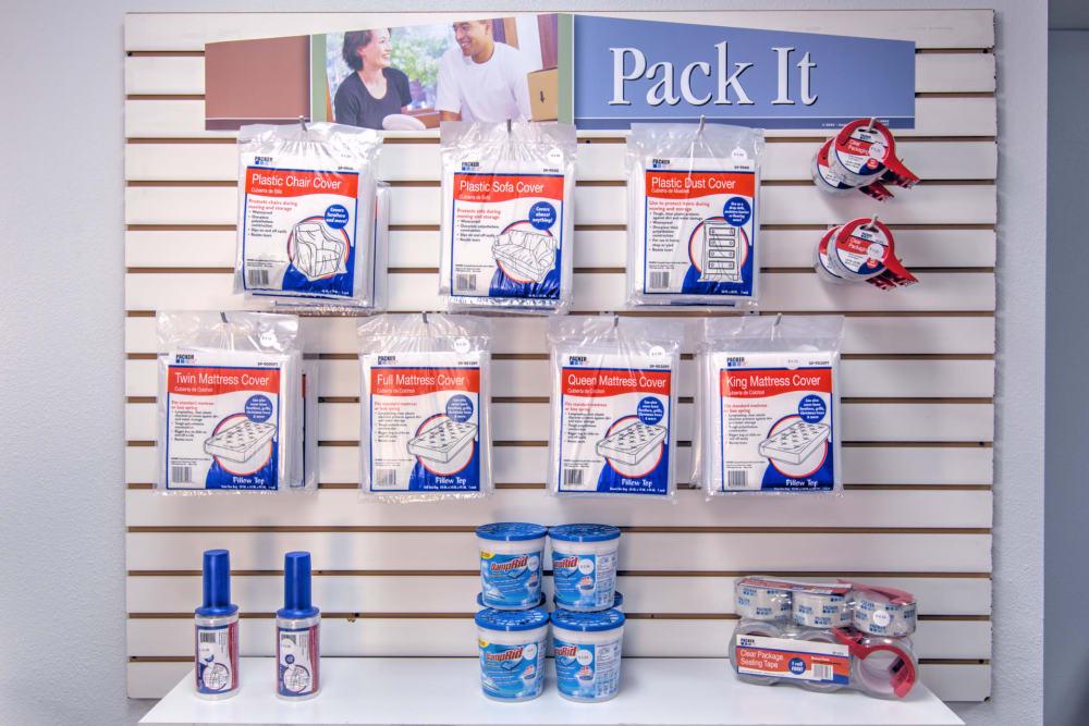 Packaging supplies at Prime Storage in Ashland, VA