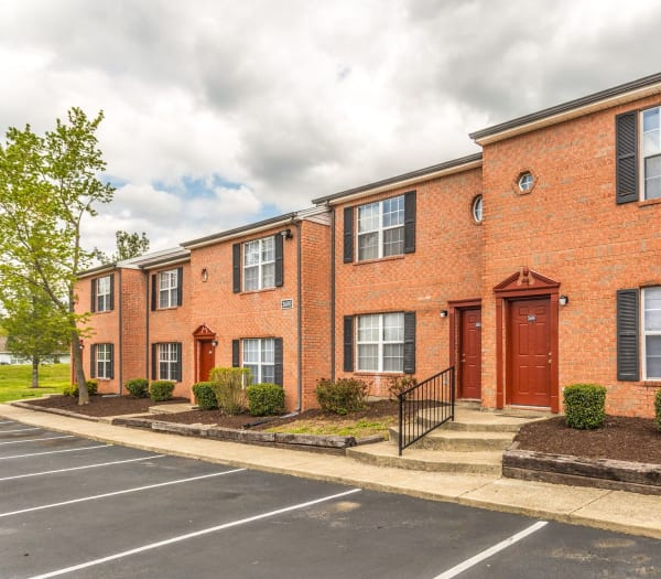 Inviting townhomes at Cypress Creek Townhomes in Goodlettsville, Tennessee